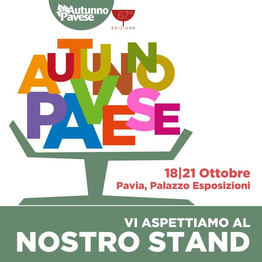 locandina evento 18-21 ottobre 2019, al palazzo esposizioni di pavia