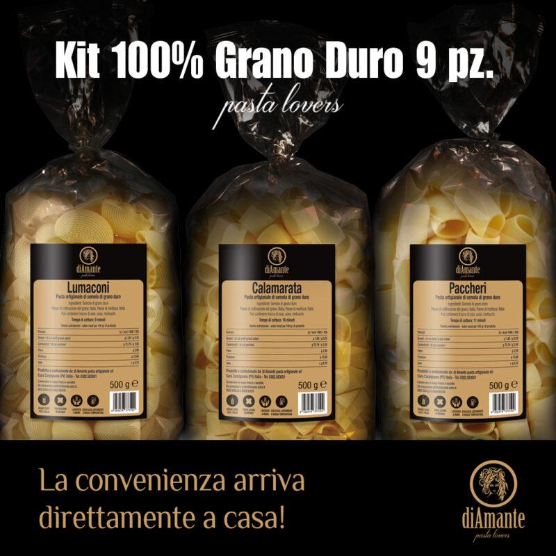 kit 100% grano duro
